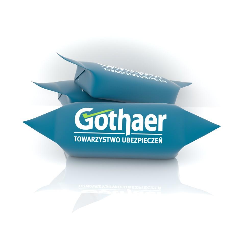 cukierki z logo firmy