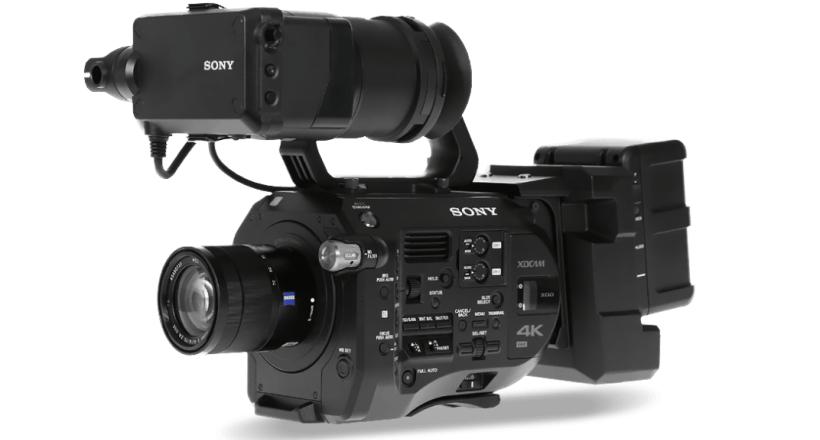 wynajem sprzętu filmowego - RentGrandfox Kraków - kamera sony fs7